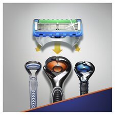 image 2 of Gillette Fusion Proglide Power Razor Blades 8 Pack