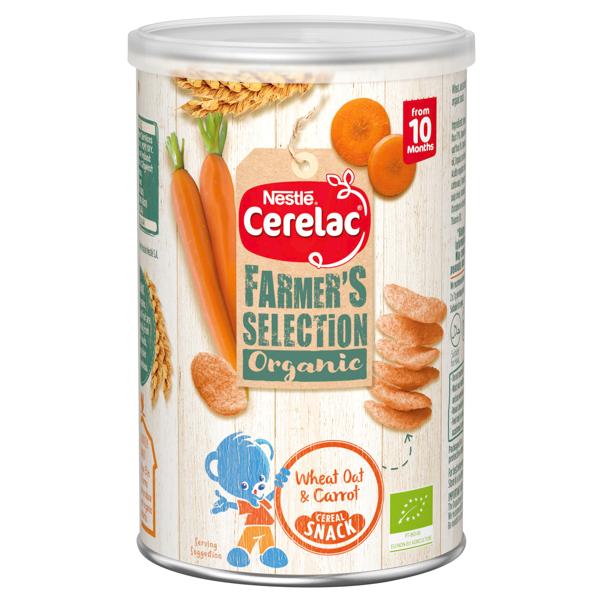 Cerelac Farmers Selection Wheat Oat & Carrot Snack 35G