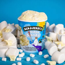 image 3 of Ben & Jerry's Baked Alaska Vanilla Ice Cream 465Ml