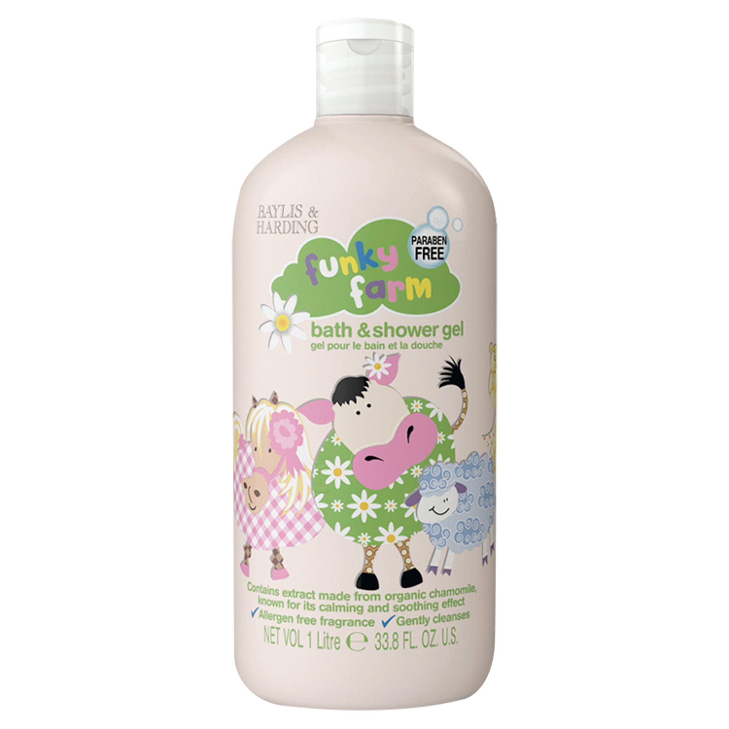 Funky Farm Bath & Shower Gel 1 Litre