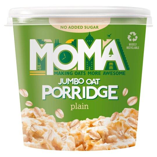 Moma Jumbo Oat Porridge Plain 65G