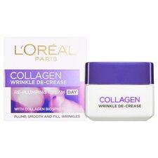 image 2 of L'oreal Paris Collagen Wrinkle De-Crease Day Cream 50Ml