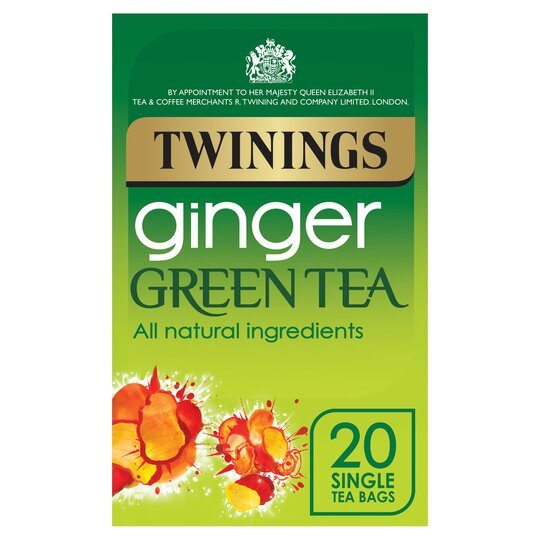 Twinings Green With Ginger 20'S 40G