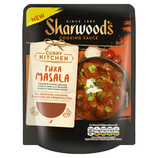 Sharwoods Tikka Masala Sauce 250G