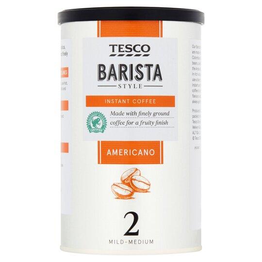 Tesco Barista Style Coffee Americano 100g