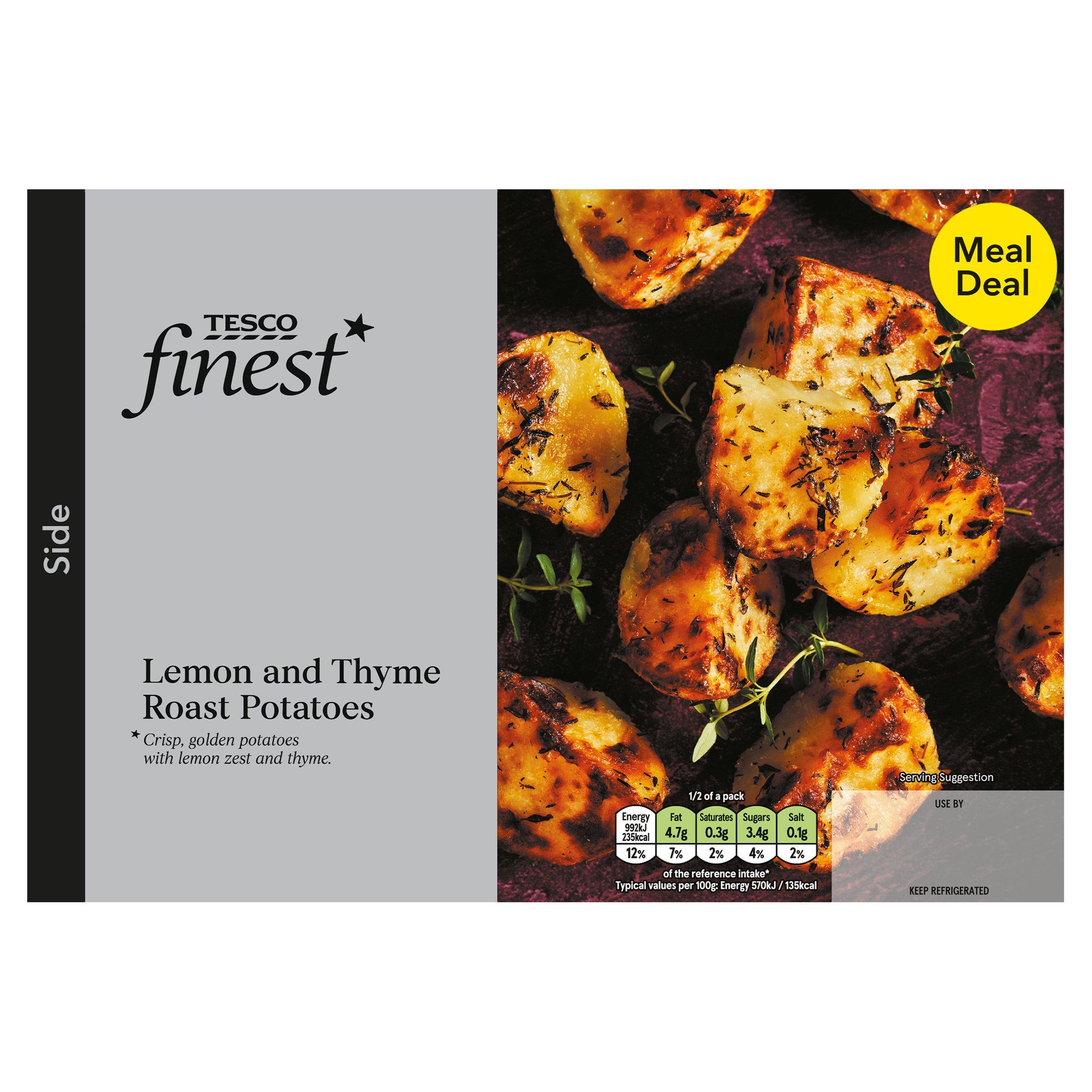 Tesco Finest Lemon And Thyme Roast Potatoes 400G