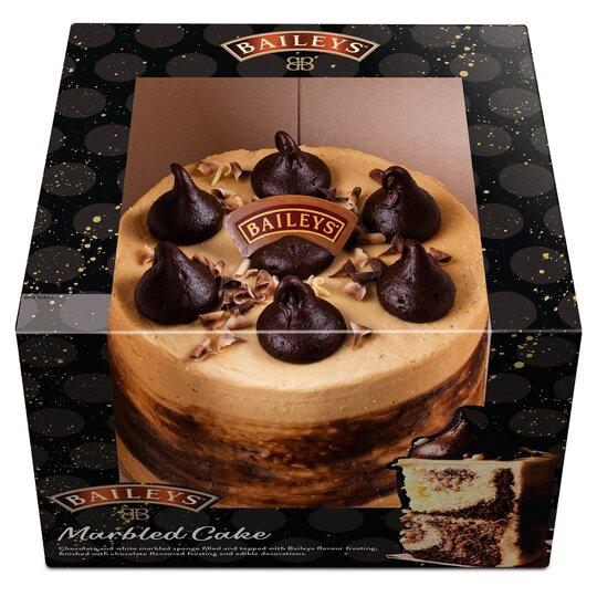 Baileys Marbled Cake