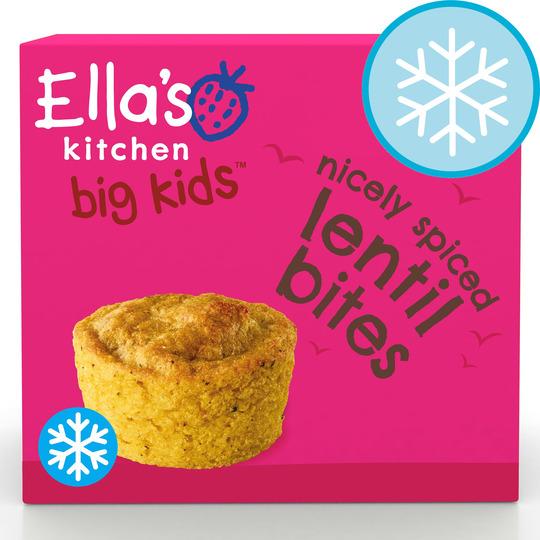 Ella's Kitchen Nicely Spiced Lentil Bites 8Pk 200G