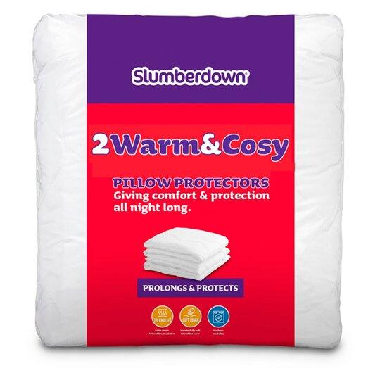 Slumberdown Warm & Cosy Pillow Pair