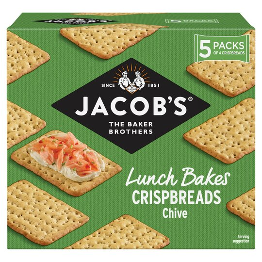 Jacobs Chive Crisp Bread 190G
