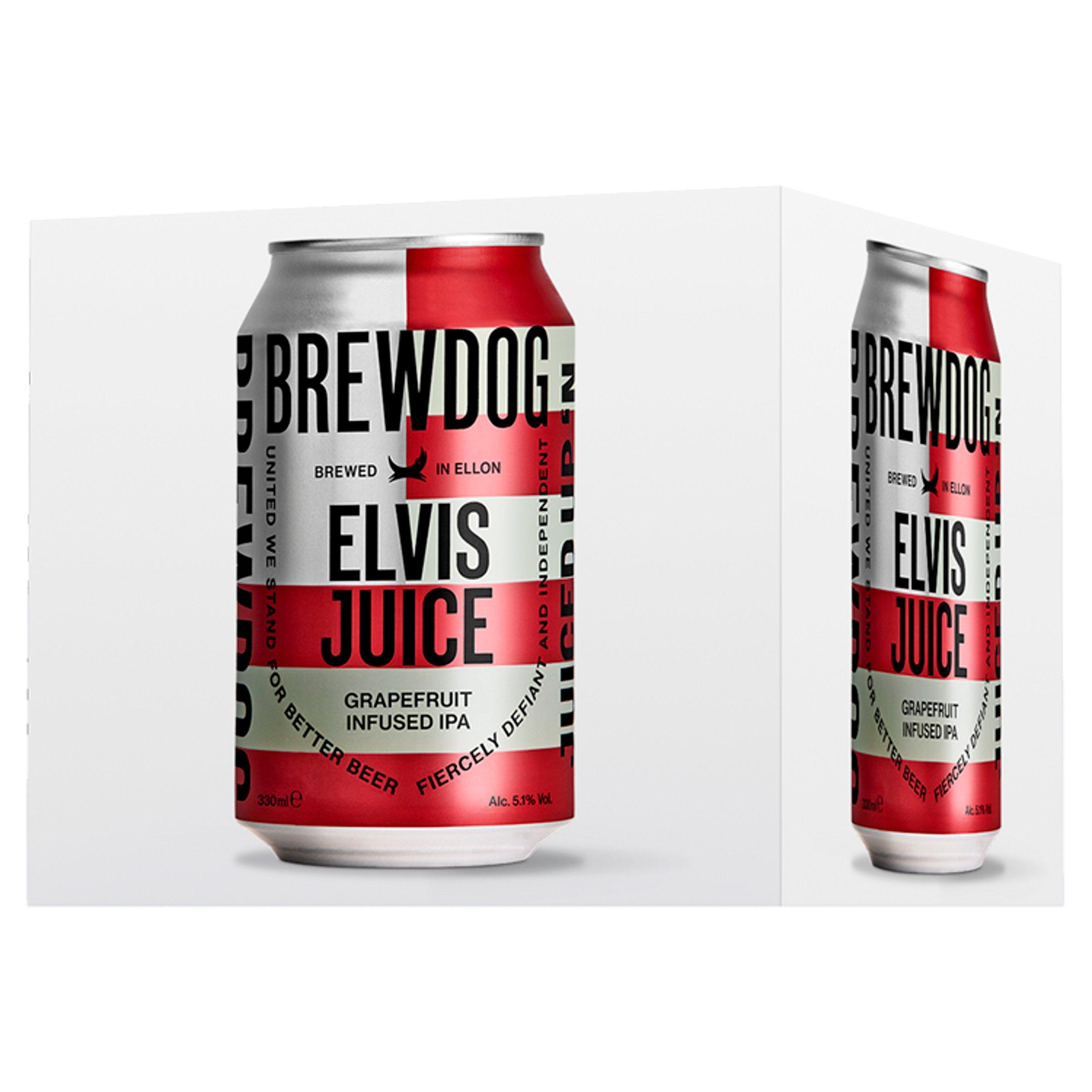 Brewdog Elvis Juice 4 X 330Ml