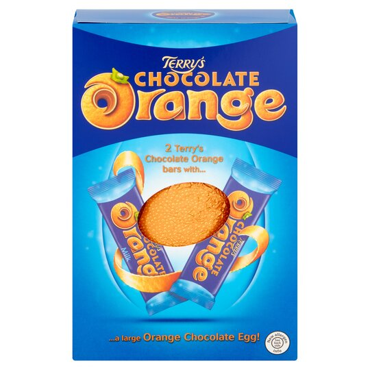 Terrys Chocolate Orange Large Hollow Easter Egg 266g