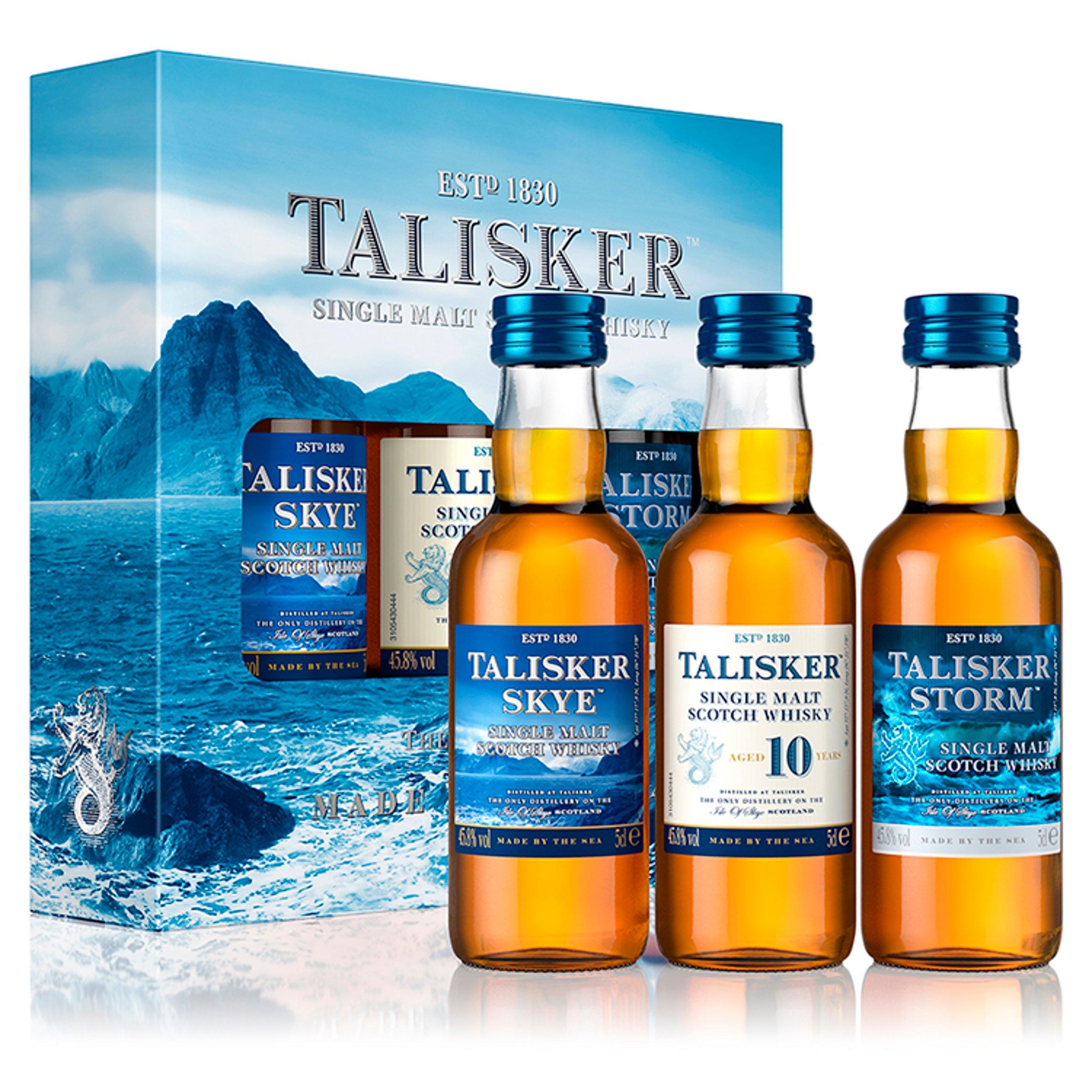 Talisker Whisky 3X5cl Gift Set