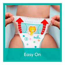 image 2 of Pampers Size 4 Baby Dry Nappy Pants 74 Jumbo Pack
