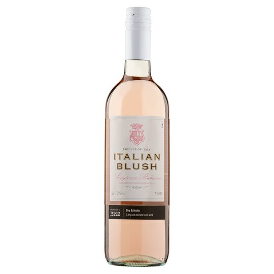 Tesco Italian Rose Blush 75Cl