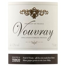 image 2 of Tesco Vouvray 75Cl