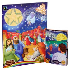 image 1 of Real Advent Calendar Milk Chocolate 85G