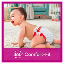 image 2 of Pampers Active Fit 30 Nappy Pants Size 4 Essential Pack