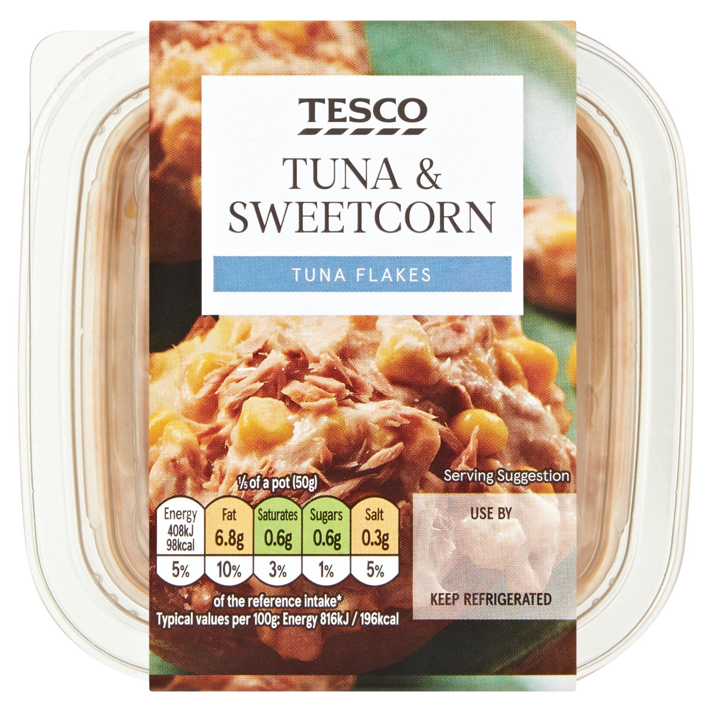 Tesco Tuna & Sweetcorn Sandwich Filler 250G