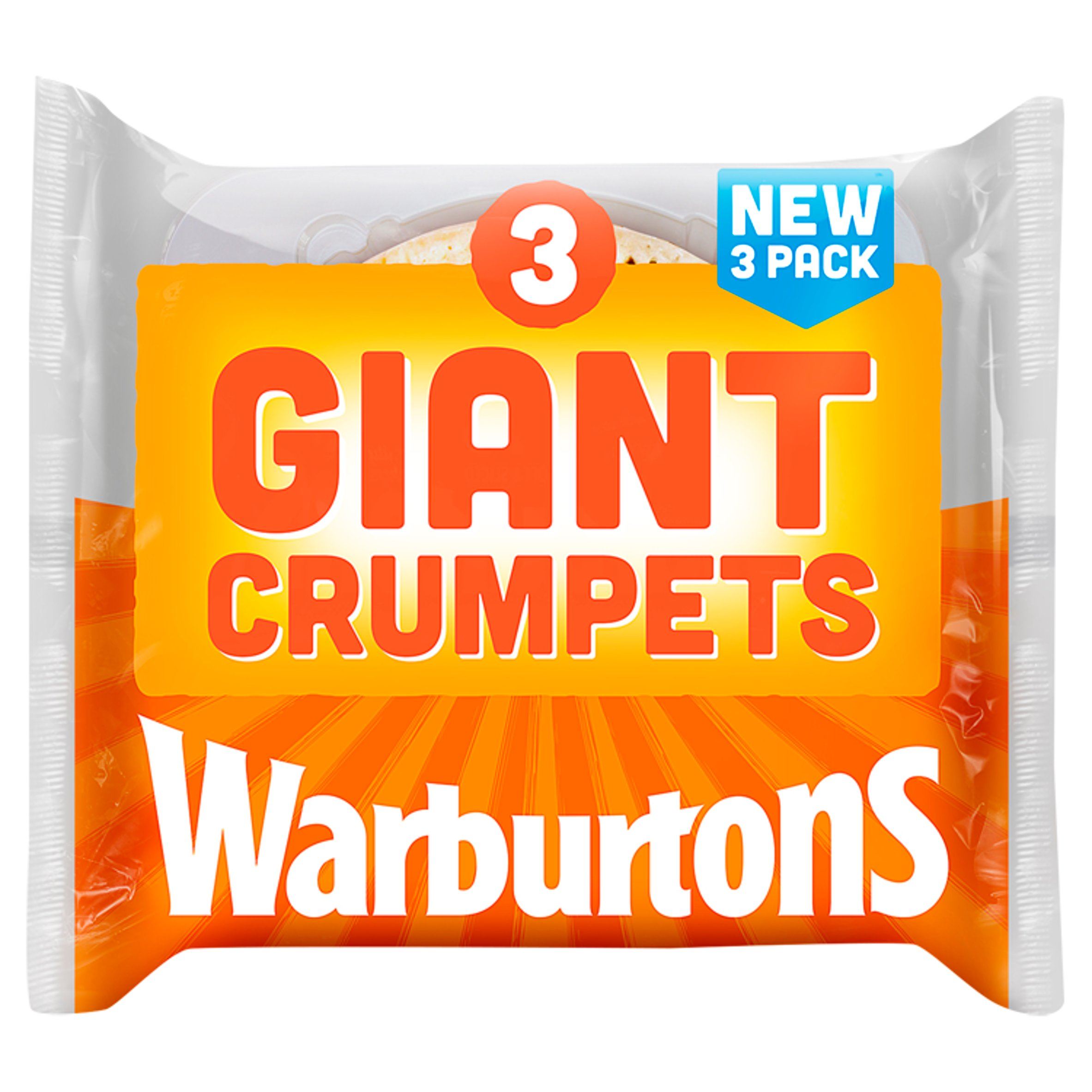 Warburtons Giant Crumpets 3 Pack