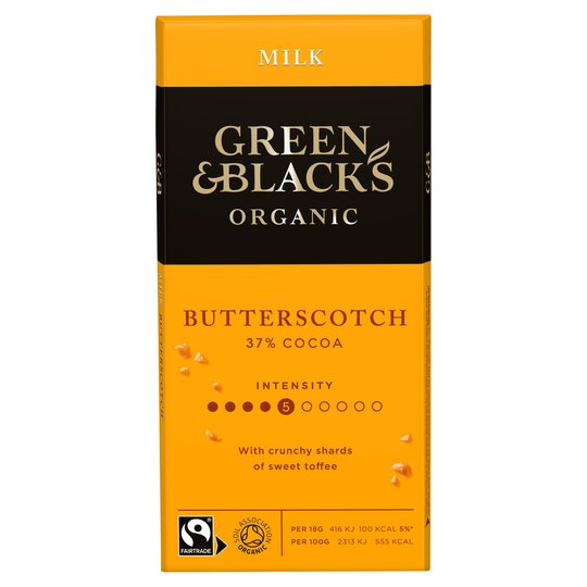 Green & Blacks Butterscotch Chocolate 90G