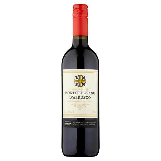 image 1 of Tesco Montepulciano D'abruzzo 75Cl