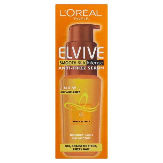 image 1 of L'oreal Paris Elvive Smooth Anti-Frizz Serum 50Ml