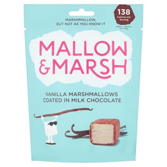 Mallow & Marsh Vanilla Marshmallow Milk Chocolate 100G