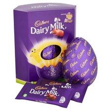 image 2 of Cadbury Dairy Milk Extra Large Easter Egg 515G