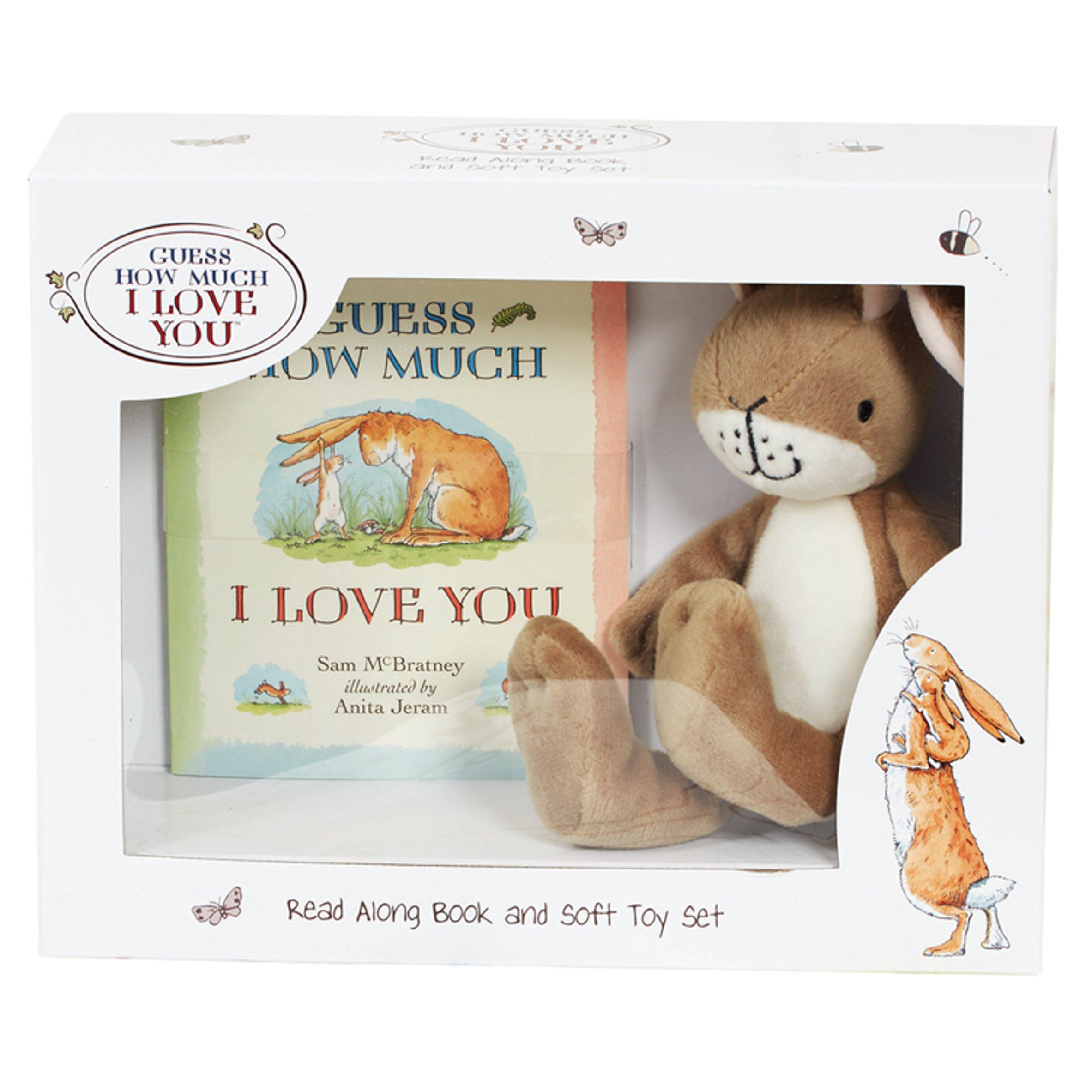 Ghmily Book & Soft Toy Set