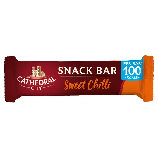 Cathedral City Sweet Chilli Snackbar 24G