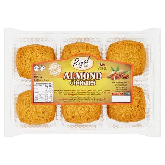 Regal Almond Cookies 12 Pack