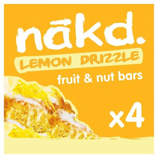 image 1 of Nakd Lemon Drizzle Bars 4X35g