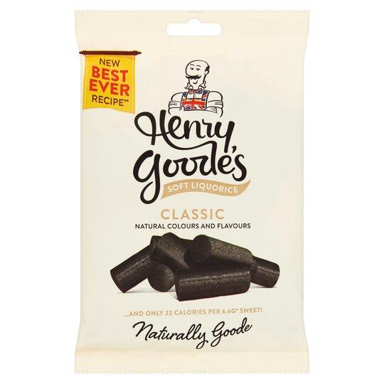 Henry Goode's Soft Eating Liquorice 200G