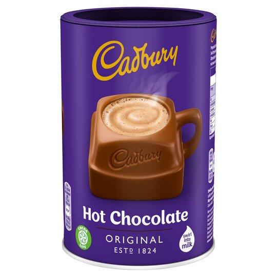 Cadbury Hot Chocolate Cocoa Powder 500g