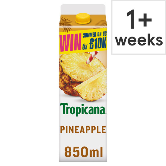 image 1 of Tropicana Pineapple Juice 850Ml