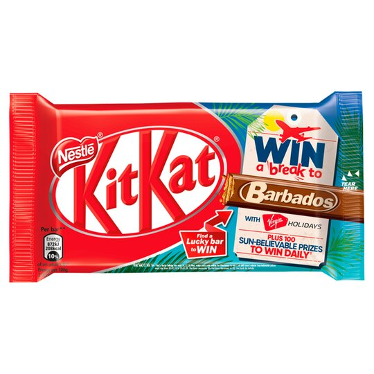 Kit Kat 4 Finger Milk Chocolate Bar 41.5G