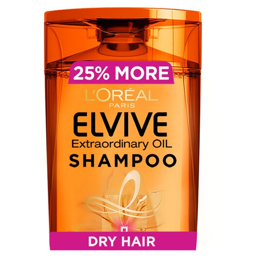 L'oreal Elvive Oil Shampoo 500Ml