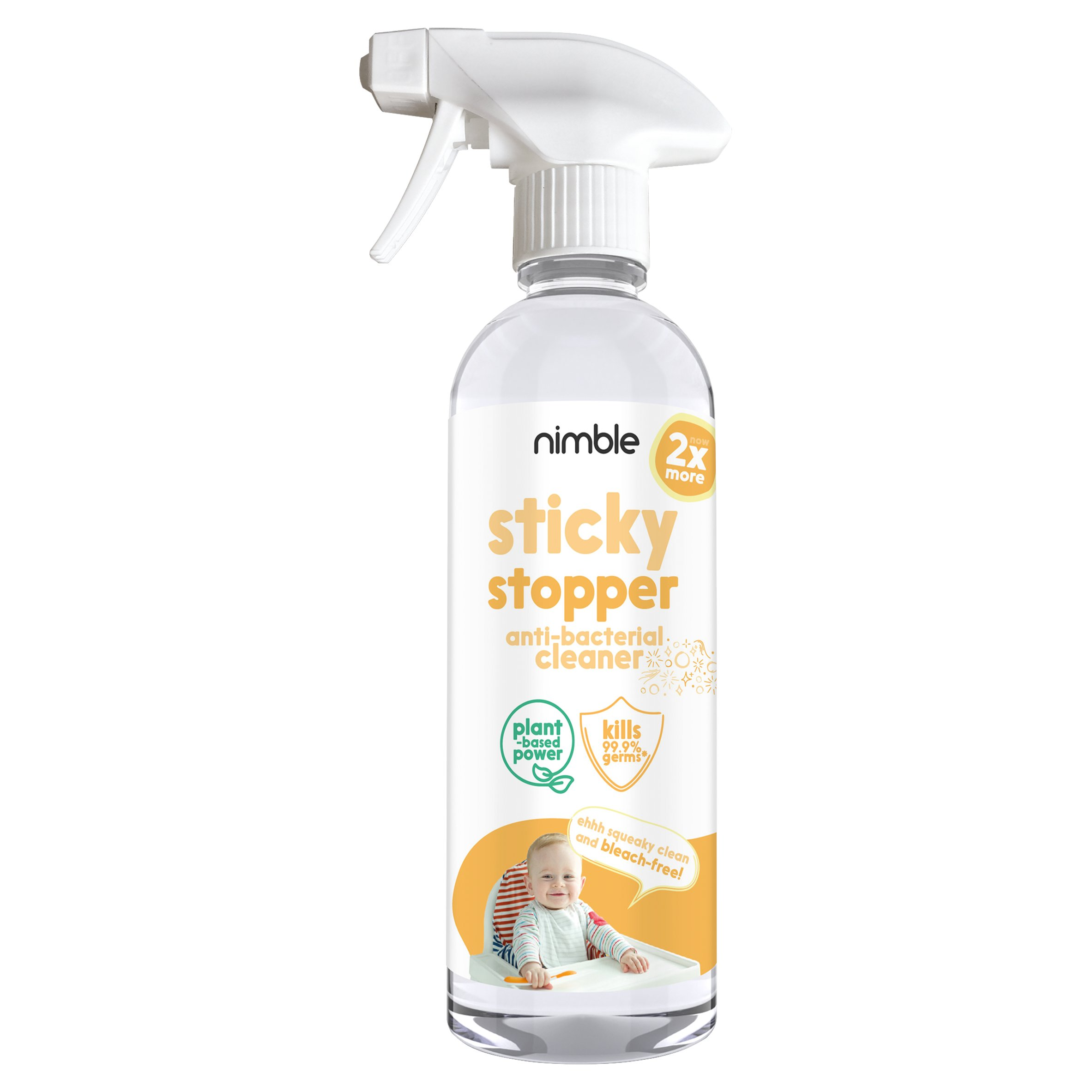 Nimble Sticky Stopper Antibacterial Cleaner 500Ml
