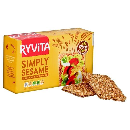 image 1 of Ryvita Sesame Crisp Bread 250G