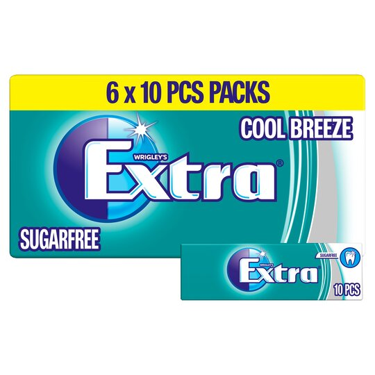 Wrigley's Extra Cool Breeze 6X10 Pieces 84G
