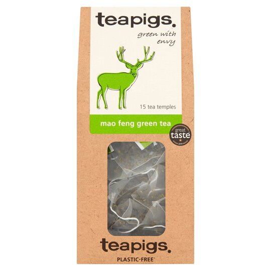 Teapigs Mao Feng Green Tea 15'S 37.5G