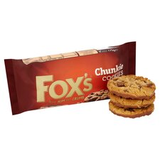 image 2 of Fox's Extremely Milk Chocolate Chunkie Cookies 175G