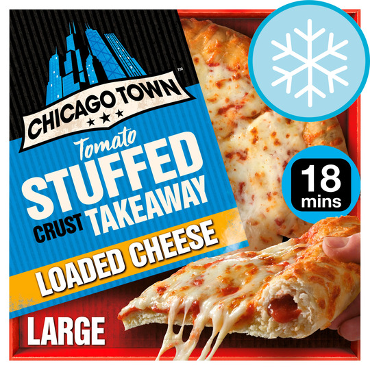 Chicago Town Large Takeaway Cheese Pizza 630G