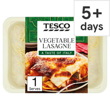 Tesco Italian Vegetable Lasagne 450g Tesco Groceries