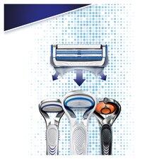 image 2 of Gillette Skin Guard Sensitive Razor Men 11 Refill Blade