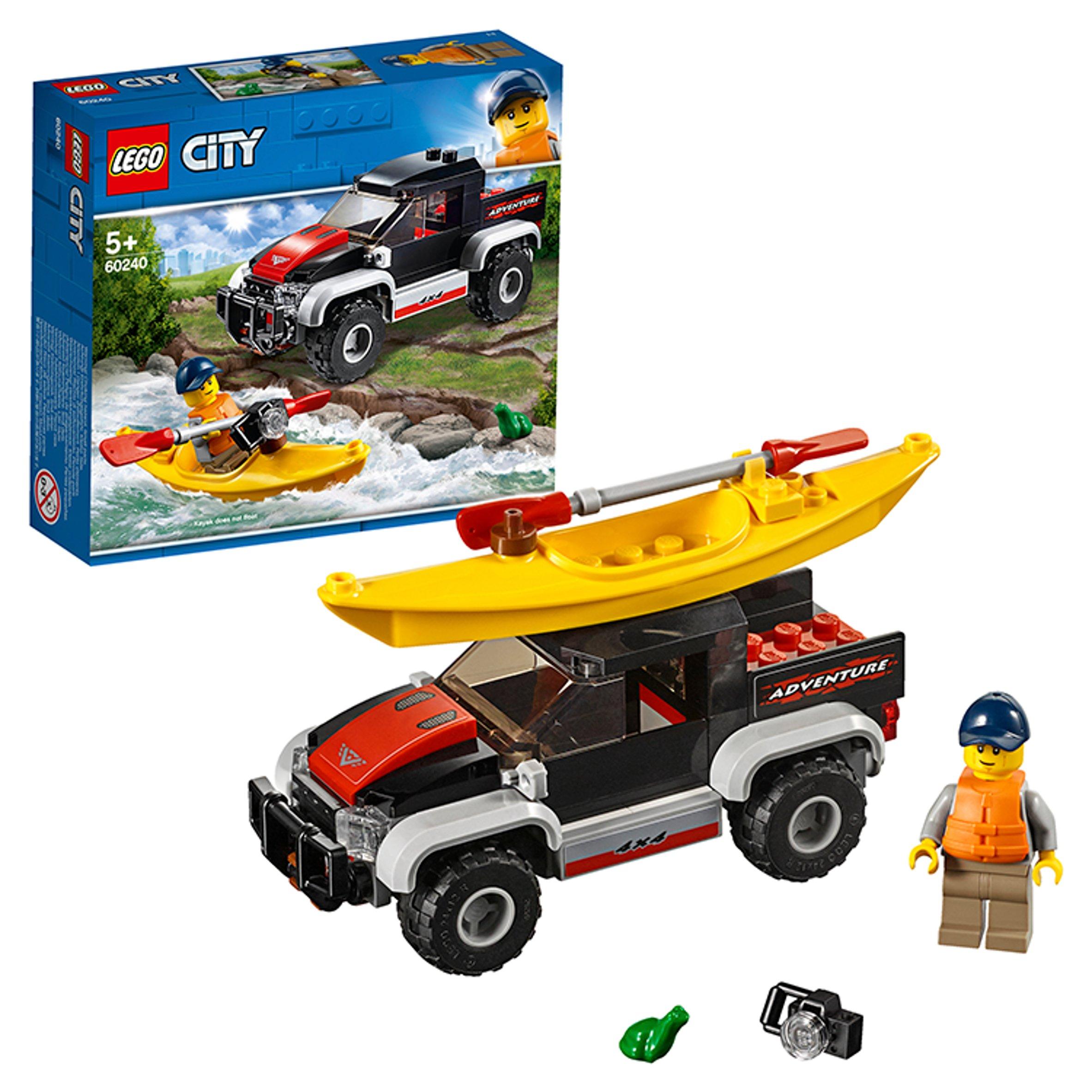 LEGO City Police Patrol Chase Car Toy 60239