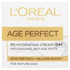 image 1 of L'oreal Paris Age Perfect Rehydrating Day Cream 50Ml