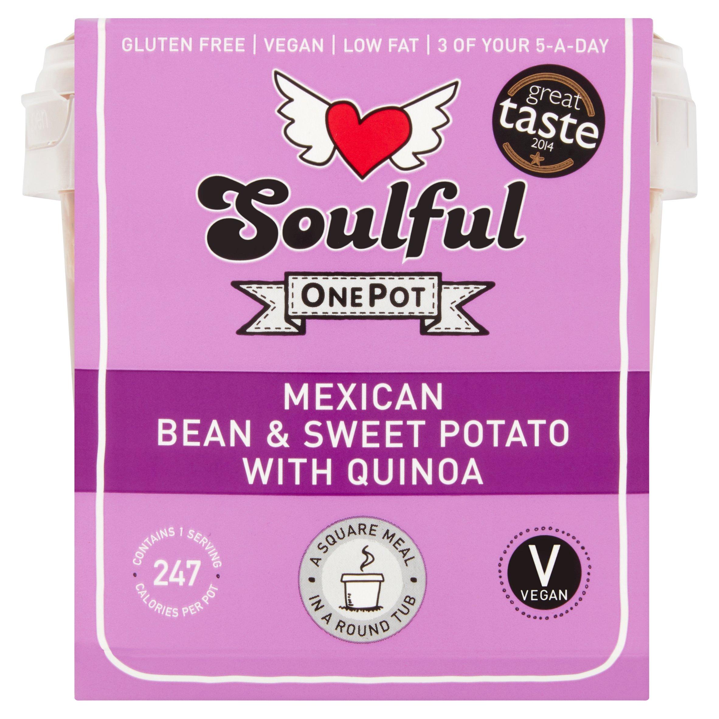 Soulful Mexican Bean Sweet Potato Quinoa 380G