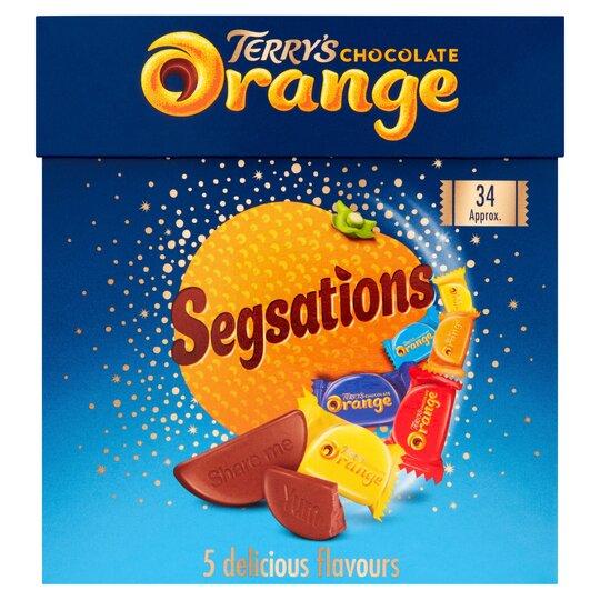 Terrys Chocolate Segsations 240G ..
